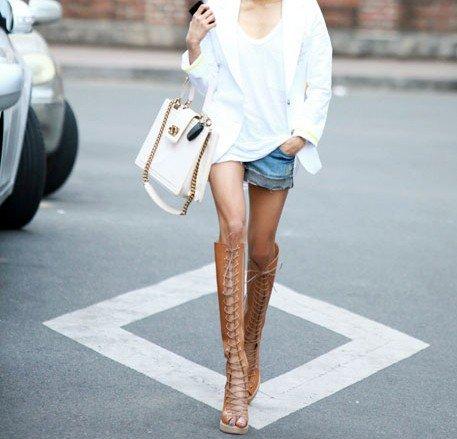 usando Sandals boots