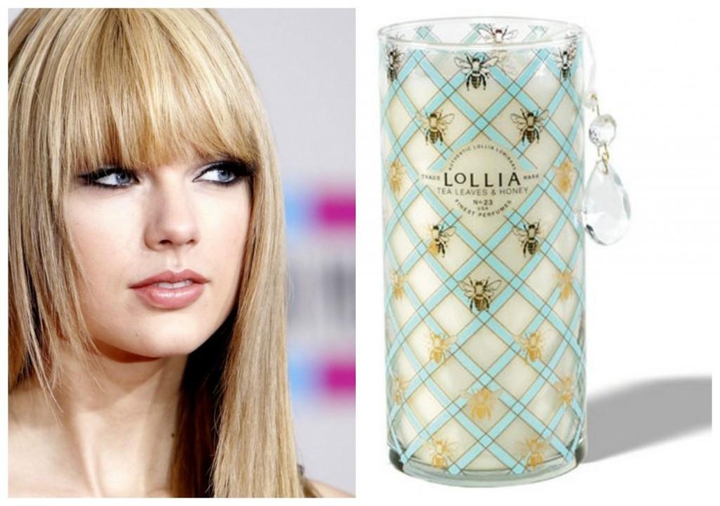 perfume predileto da Taylor Swift