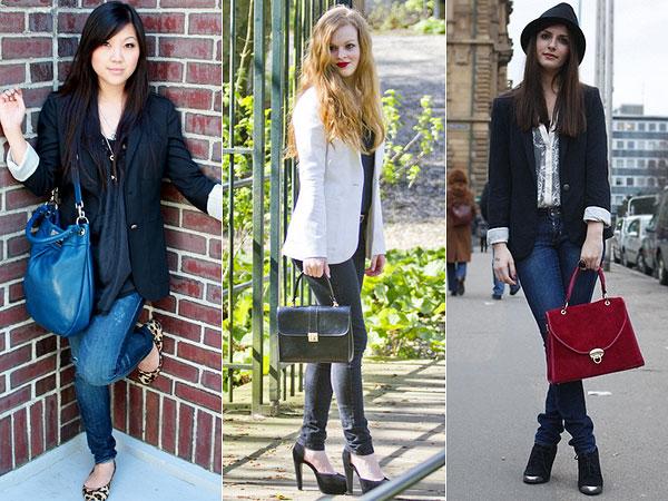 9355527477 Blazer feminino  Como usar · blazer é um dos casacos da moda inverno 2014
