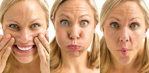 ginástica facial para evitar rugas