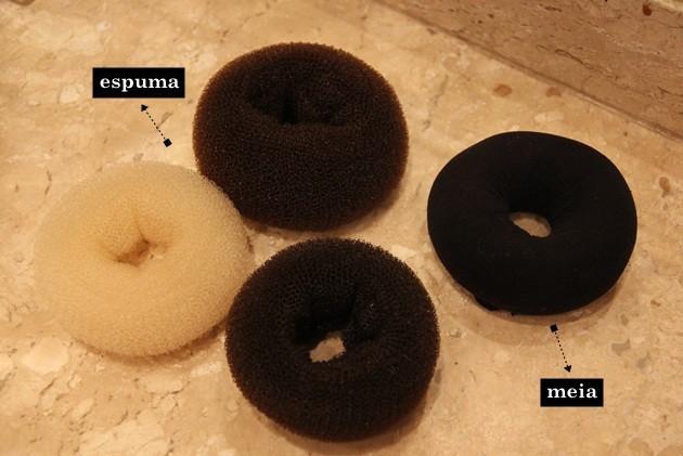 como fazer coque donut