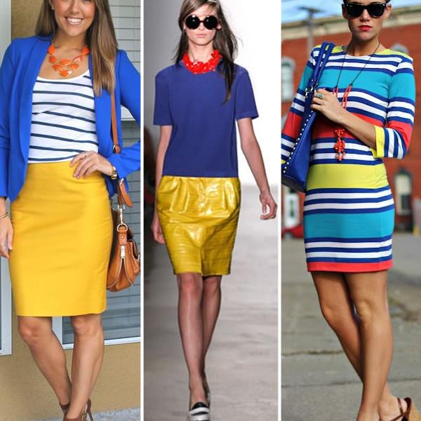 fotos de mulheres usando cores primárias