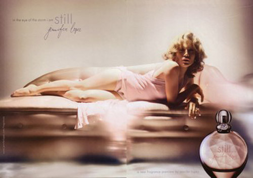 perfume Still da Jennifer Lopez entre os perfumes mais vendidos do mundo