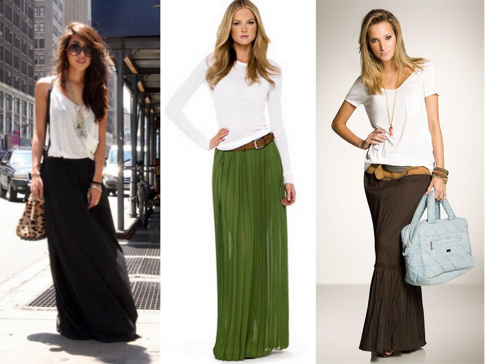 c000f736c5 Invista e se apaixone pelas saias longas - Site de Beleza e Moda