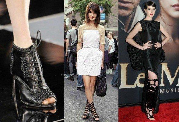 Sandals boots para festas