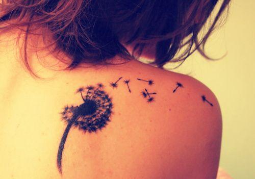 ilustração das tatuagens femininas