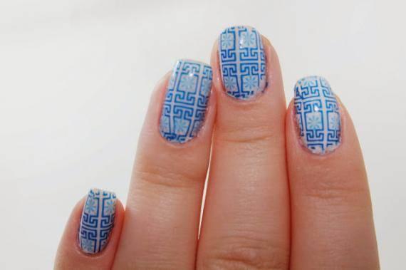aprenda fazer unhas decoradas de azulejo português