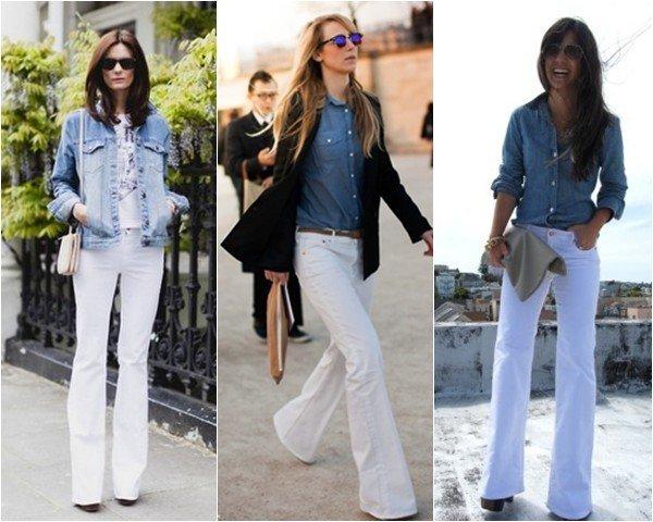 dicas para usar a calça branca