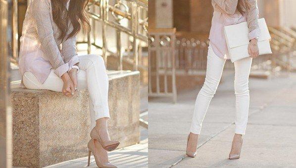 dicas para usar corretamente a calça branca