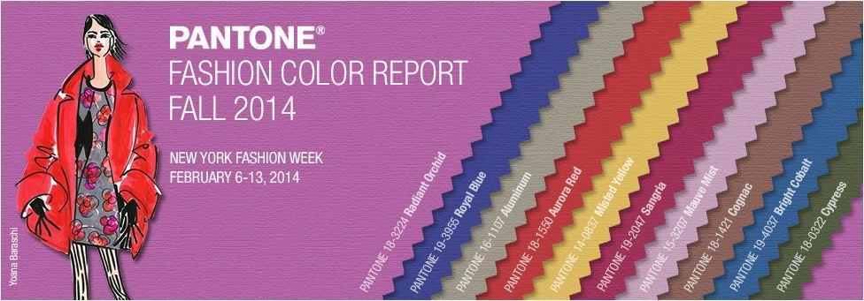 Pantone divulga as 10 cores do Inverno 2014