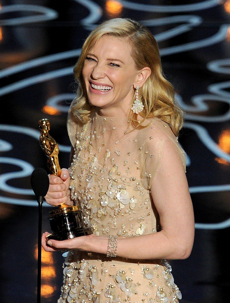 Cate Blanchett foi a vencedora do Oscar 2014