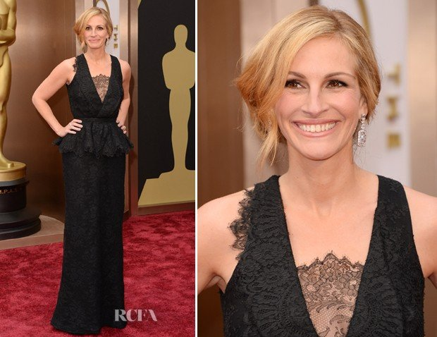 Julia Roberts no Oscar 2014