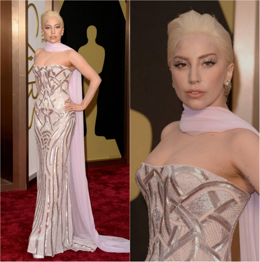 Lady Gaga no Oscar 2014