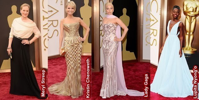 Looks do Oscar 2014 para inspirar