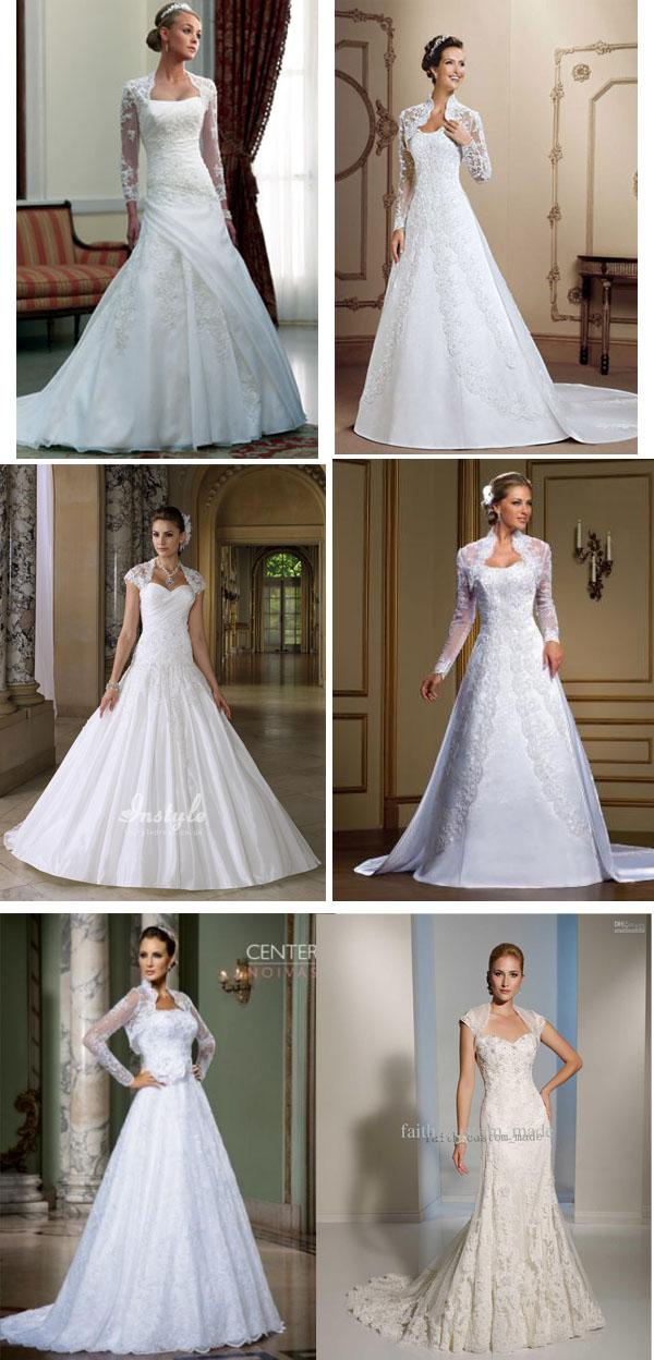 Vestido-de-noiva-com-bolero-evangelica
