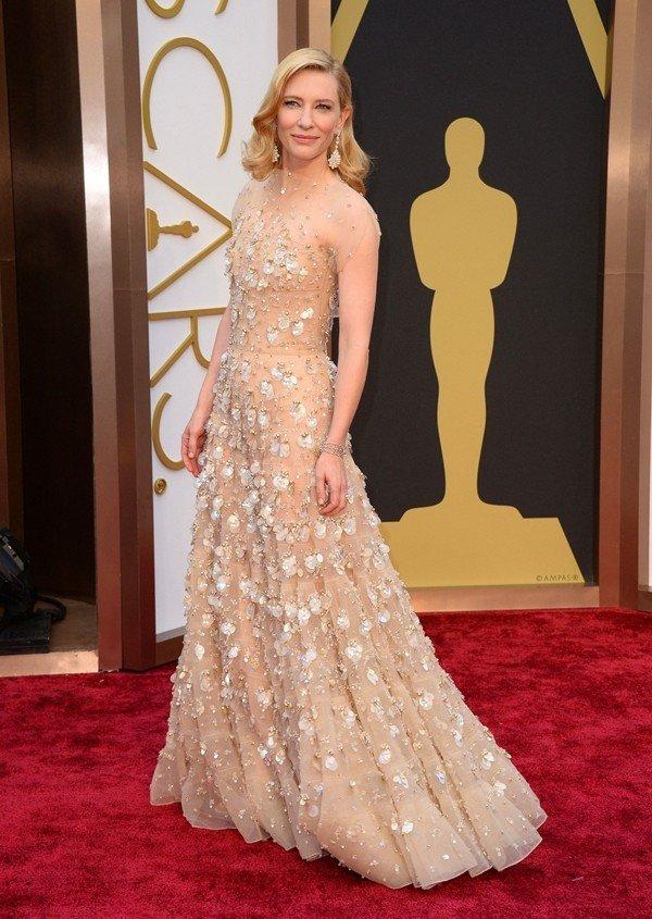 destaque para o look de Cate Blanchett
