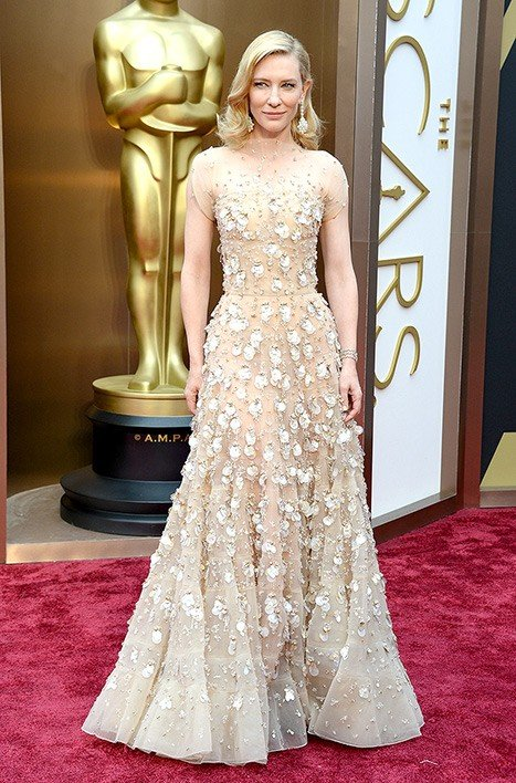Cate Blanchett entre os looks do Oscar 2014