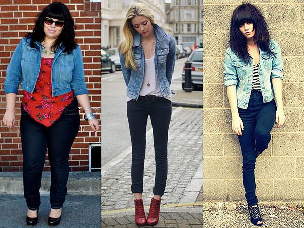 look moderno com jaqueta