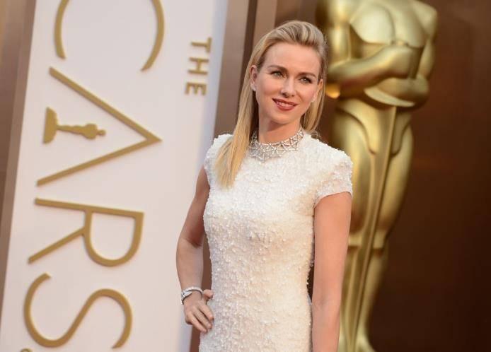 naomi vestida para o Oscar 2014