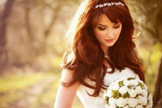 penteado para noiva que for casar durante o dia