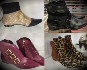 botas femininas com Estampas animal print