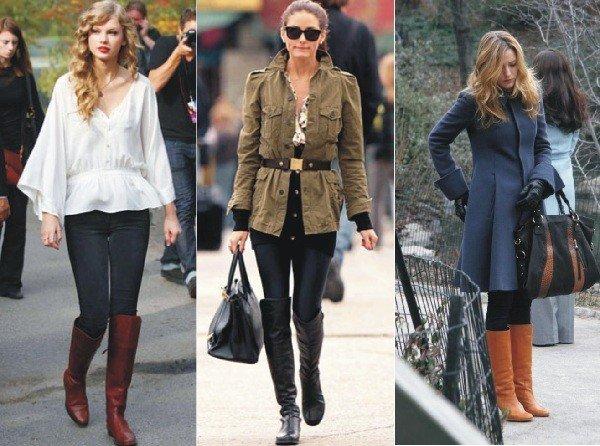 botas femininas de montaria