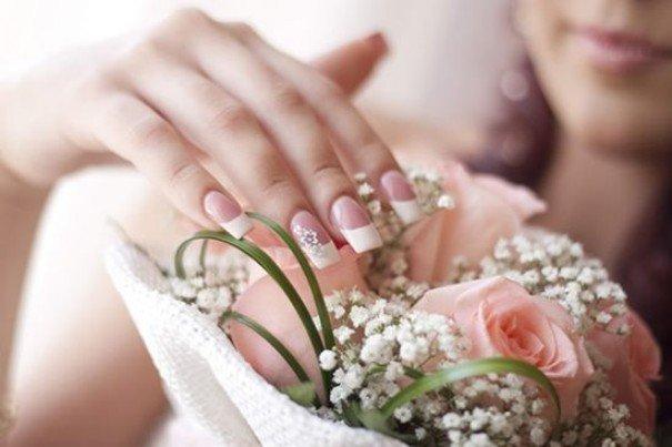Unhas decoradas para noivas