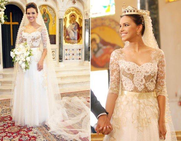 vestidos de noiva das novelas com toque de romantismo