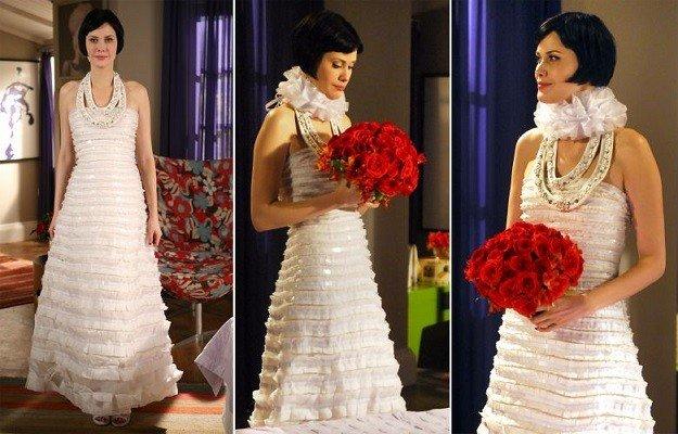 vestidos de noiva das novelas no estilo moderno