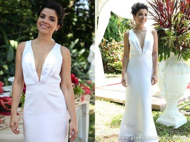 vestidos de noiva das novelas modernos e delicados