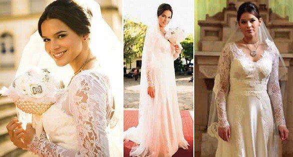 vestidos de noiva das novelas de sucesso