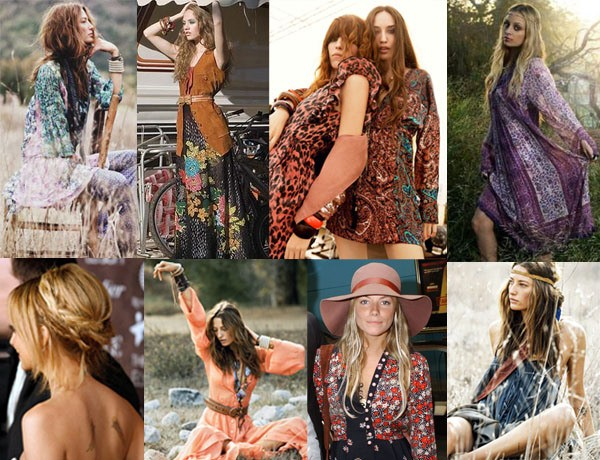 Fotos de looks com Folk Chic ou Boho mais modern