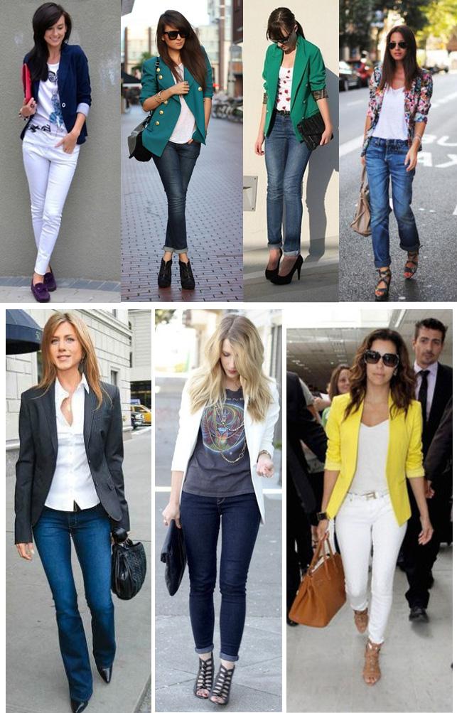 maneiras de usar o blazer feminino - Site de Beleza e Moda