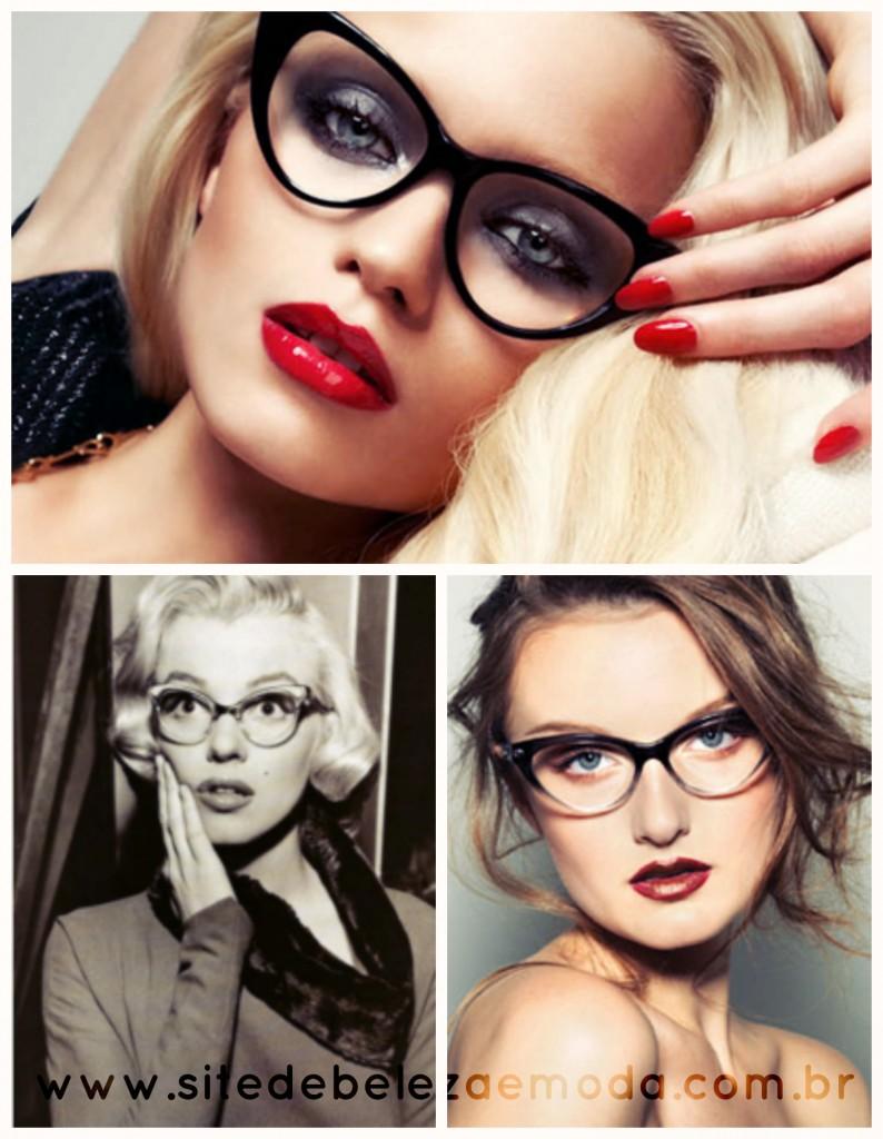 foto de mulheres usando óculos com lindas armações