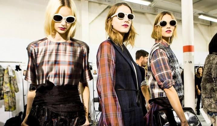 grunge na semana de moda de Nova York