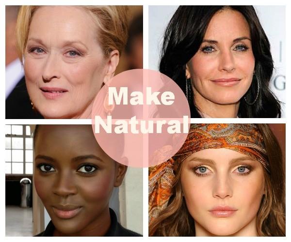 Make Natural é tendência