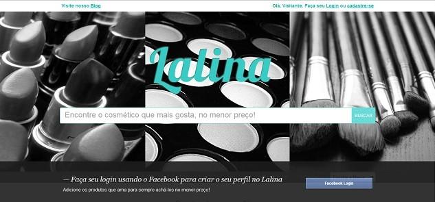 Lalina:Comparadorde preçosde cosméticose produtosde beleza