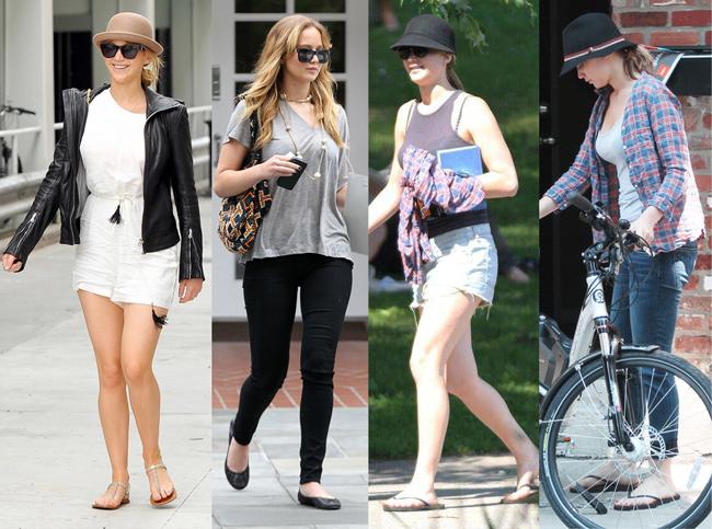 Looks da Jennifer Lawrence