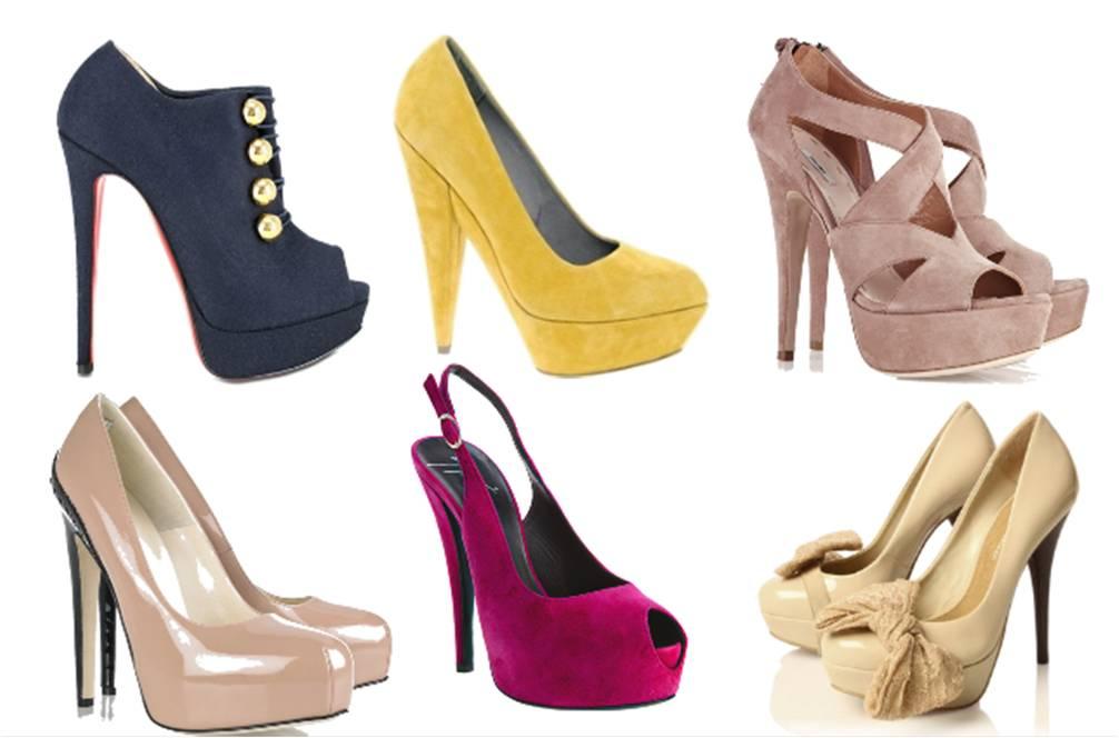 Salto meia pata um dos calçados favoritos