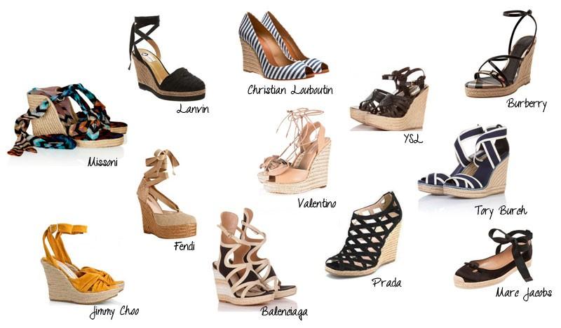 Salto plataforma é um dos calçados favoritos