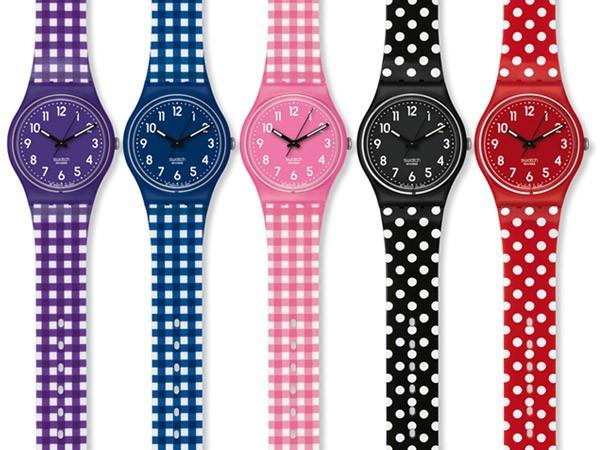 relógios com estampas divertidas tipo Swatch