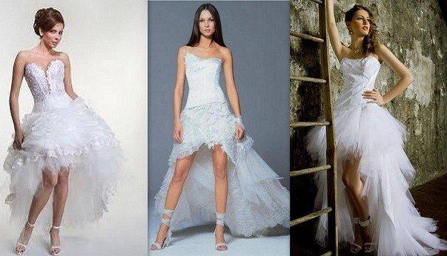 corte mullet entre as tendências de vestidos de noiva 2014