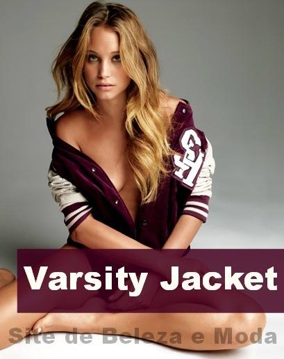 O inverno é dela, da Varsity Jacket