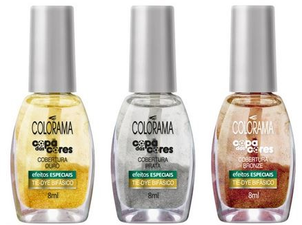 esmaltes colorama para a copa do mundo