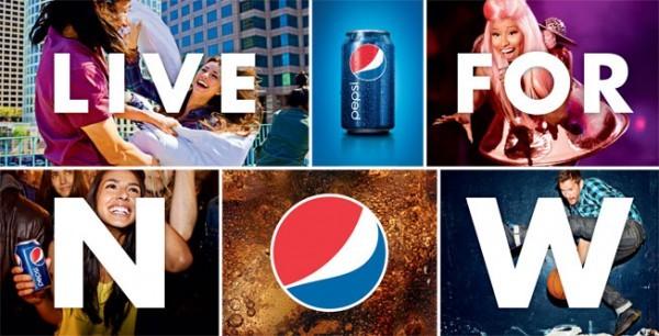 """Pepsi lança sua primeira coleção de moda """"Live for Now"""""""