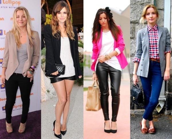 modelos de Blazers femininos