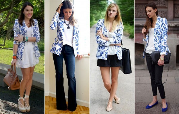 looks de blazers femininos