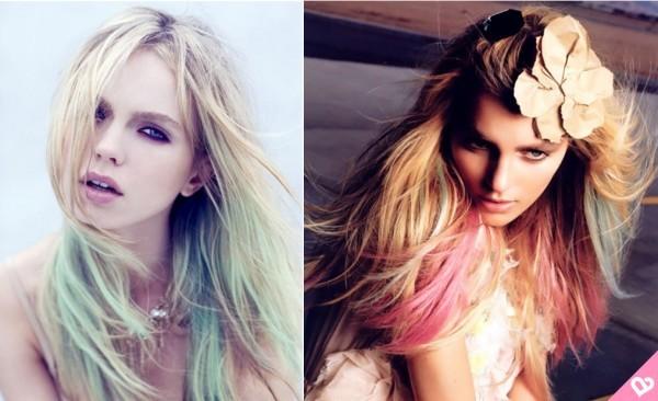 cabelos coloridos sem medo