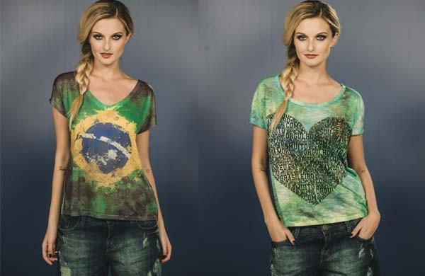 Sugestões de roupas e acessórios para a Copa do Mundo 2014