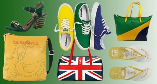 boas ideias de roupas e acessórios para a copa do mundo 2014
